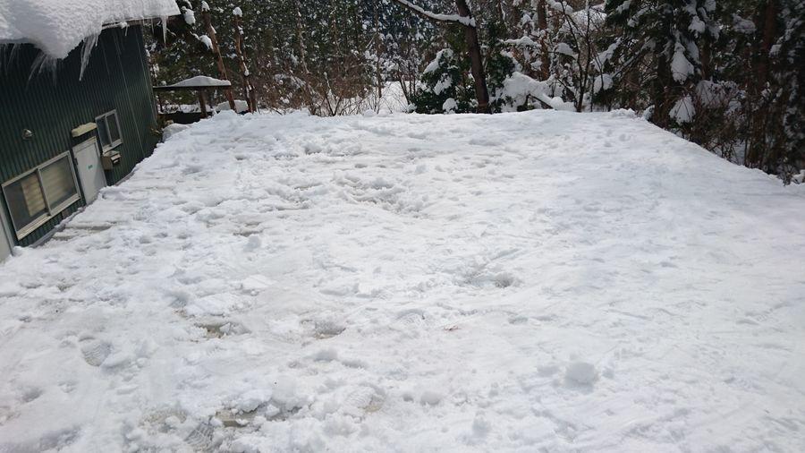 雪降ろし-4