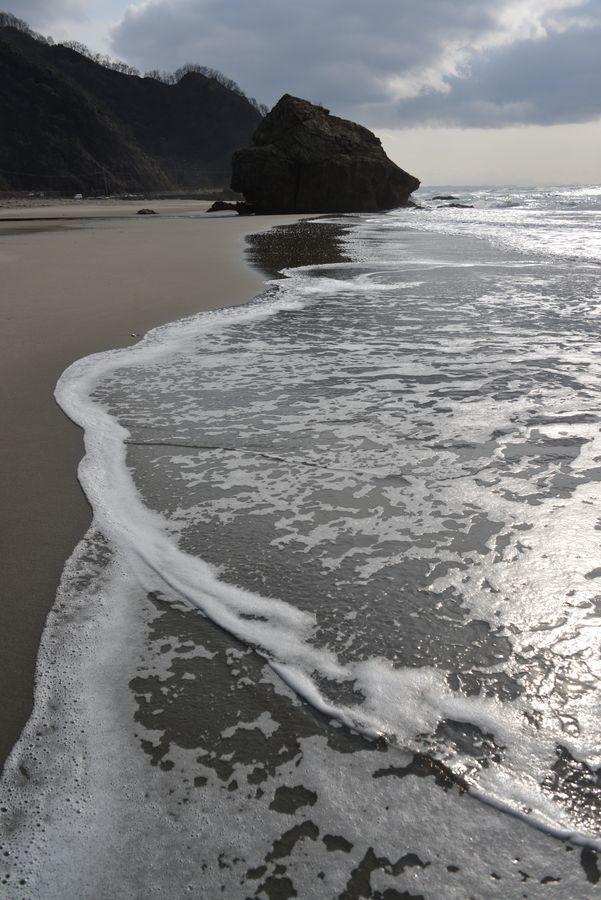 砂浜に-5