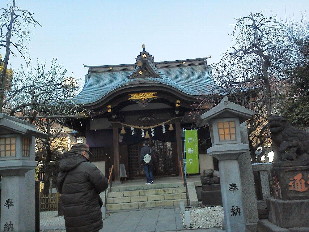 F1000122牛天神北野神社2月24日しだれ梅