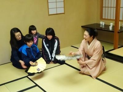 古武術×日本舞踊・柳寿環先生とのコラボ講座第1回②_福島ありがとうプロジェクト