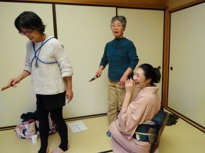 古武術×日本舞踊のコラボ講座第1回④_福島ありがとうプロジェクト