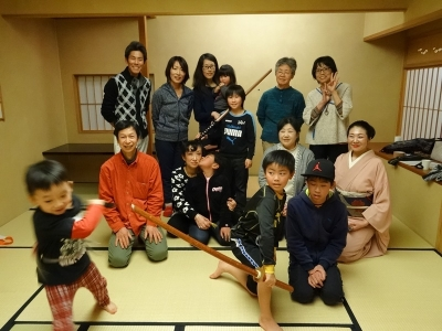 古武術×日本舞踊・柳寿環先生とのコラボ講座第1回⑦_福島ありがとうプロジェクト