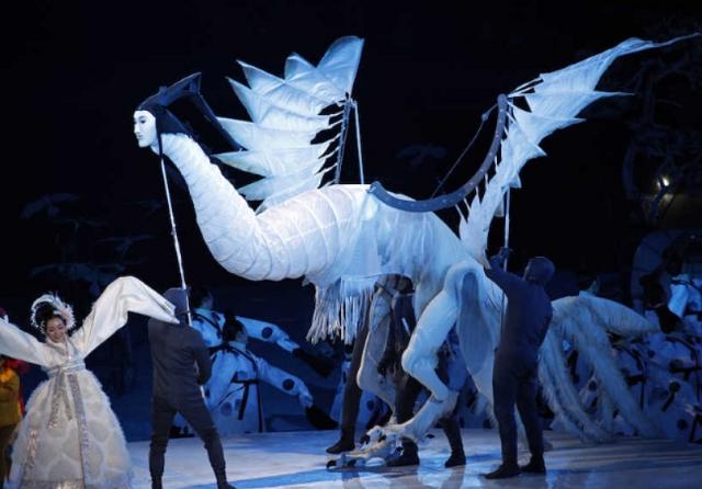 平昌オリンピック 人面鳥