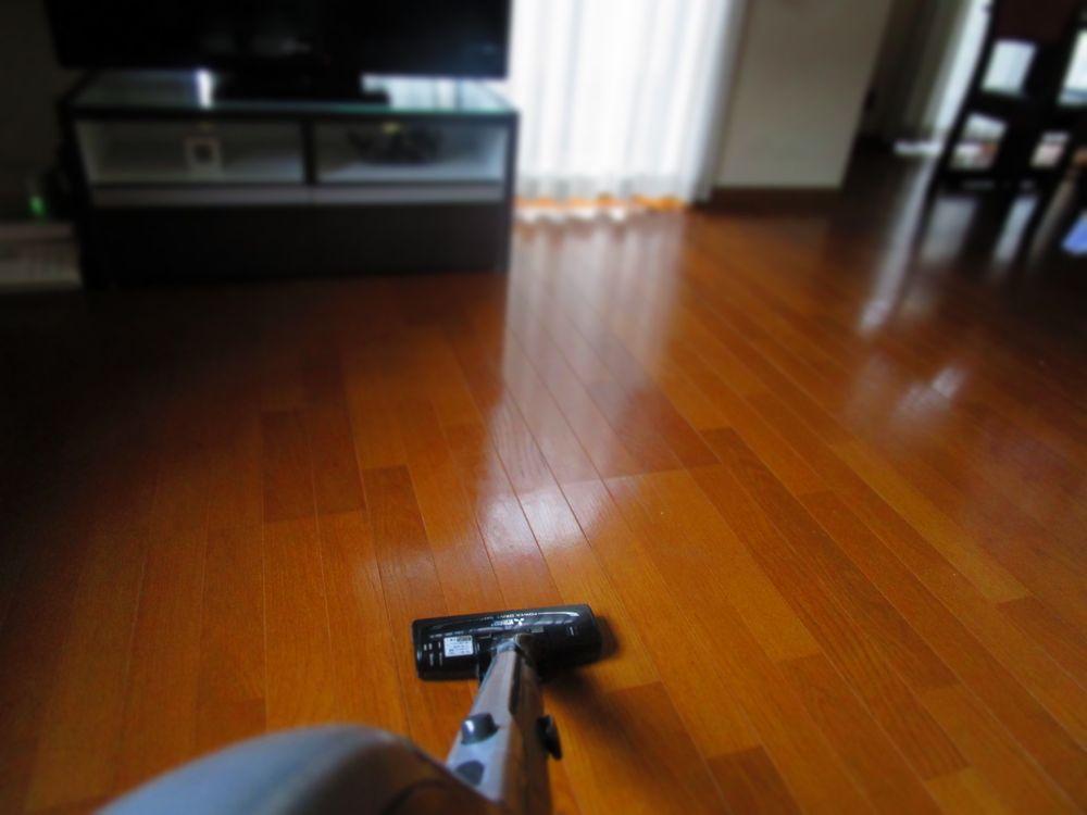 リビング掃除 (1)
