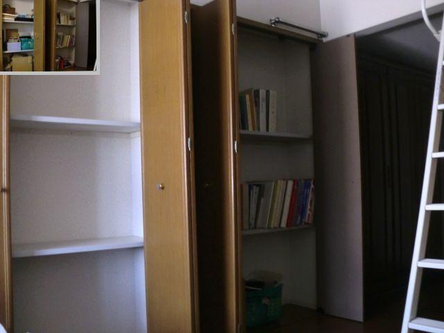 寝室壁面収納片付けアフター 2