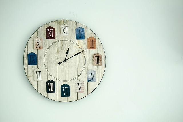 時計 タイムライン