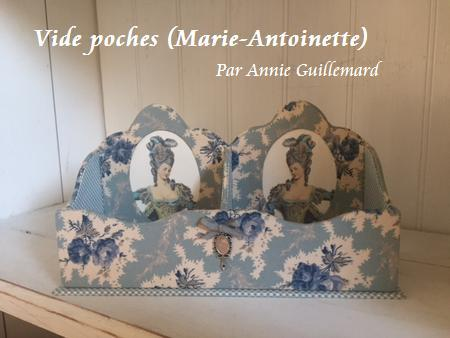 Vide poches (Marie-Antoinette) par Annie Guillemard