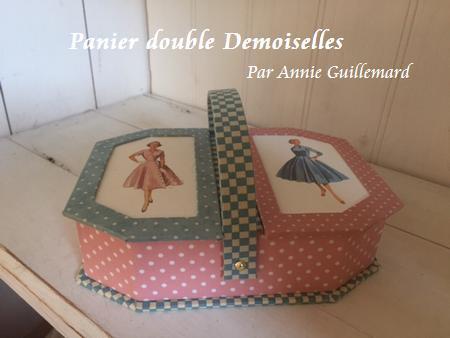 Panier double Demoiselles