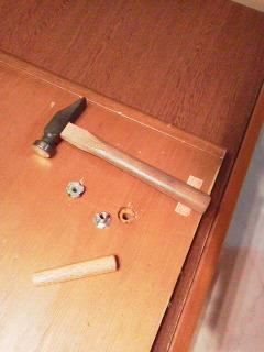 180204ベッド修理