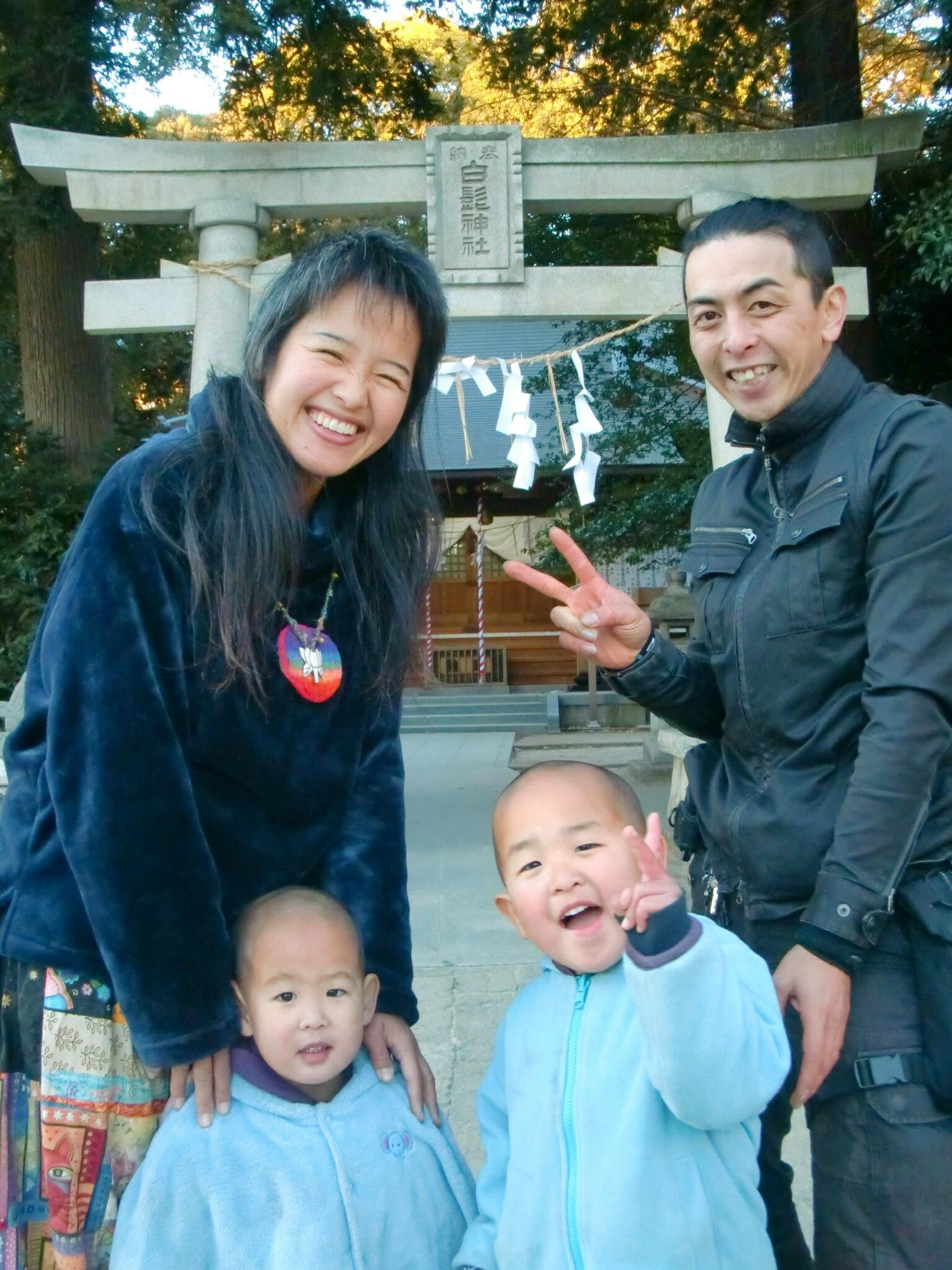 2018年 家族写真