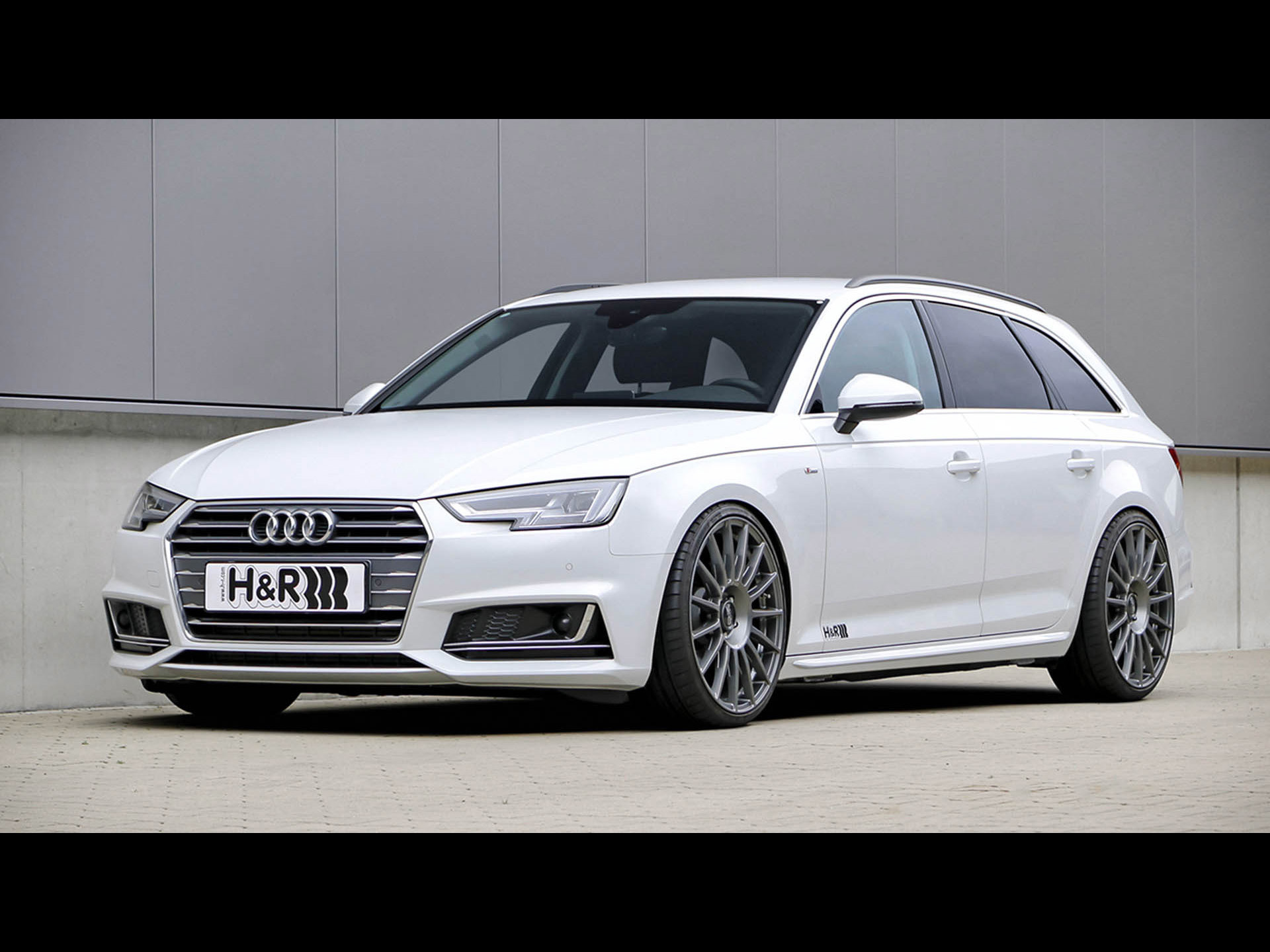 h r audi a4 avant 2018. Black Bedroom Furniture Sets. Home Design Ideas
