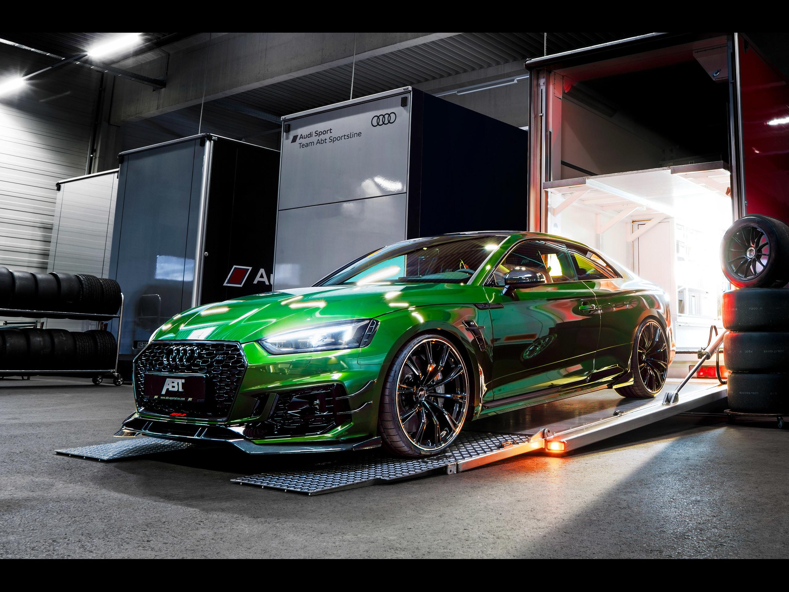 ABT Sportsline Audi RS5R [2018]  アウディに嵌まる  壁紙画像ブログ