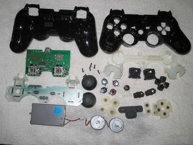 PS3 コントローラーをメンテナンスするため分解してみました その3