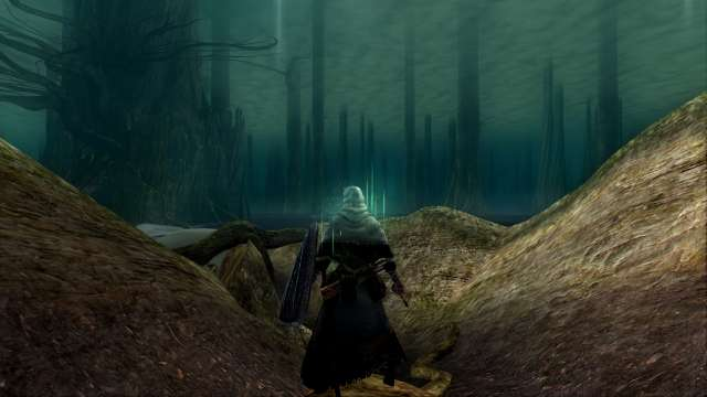 PC 版 DARK SOULS with ARTORIAS OF THE ABYSS EDITION(Prepare To Die Edition) DSfix スクリーンショット、エリア 灰の湖(Ash Lake)