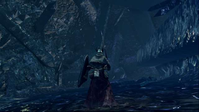 PC 版 DARK SOULS with ARTORIAS OF THE ABYSS EDITION(Prepare To Die Edition) DSfix スクリーンショット、エリア 結晶洞穴(Crystal Cave)