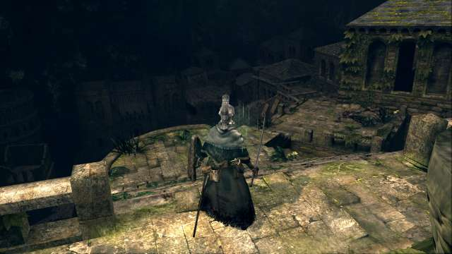 PC 版 DARK SOULS with ARTORIAS OF THE ABYSS EDITION(Prepare To Die Edition) DSfix スクリーンショット、エリア ウーラシール市街(Oolacile Township)