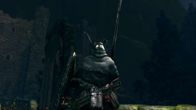 PC 版 DARK SOULS with ARTORIAS OF THE ABYSS EDITION(Prepare To Die Edition) DSfix スクリーンショット、エリア 黒い森の庭(Darkroot Garden) エリアボス 月光蝶 撃破後