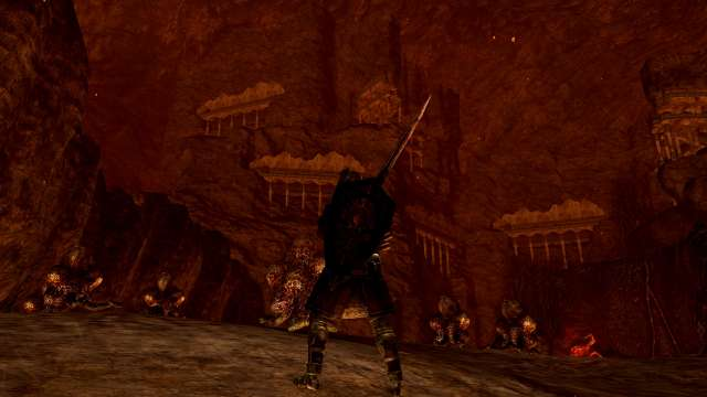 PC 版 DARK SOULS with ARTORIAS OF THE ABYSS EDITION(Prepare To Die Edition) DSfix スクリーンショット、エリア デーモン遺跡(Demon Ruins)