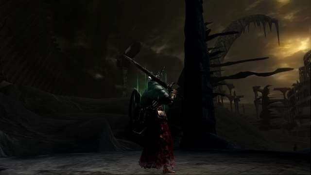 PC 版 DARK SOULS with ARTORIAS OF THE ABYSS EDITION(Prepare To Die Edition) DSfix スクリーンショット、エリア 最初の火の炉(Kiln of the First Flame)