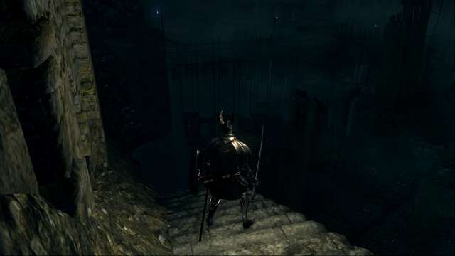 PC 版 DARK SOULS with ARTORIAS OF THE ABYSS EDITION(Prepare To Die Edition) DSfix スクリーンショット、エリア 小ロンド遺跡(New Londo Ruins) 水門開放後