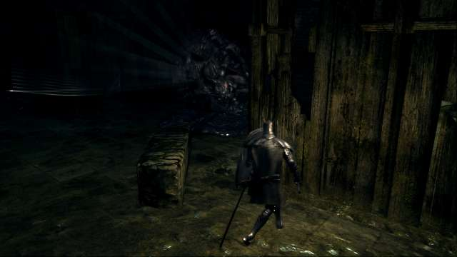 PC 版 DARK SOULS with ARTORIAS OF THE ABYSS EDITION(Prepare To Die Edition) DSfix スクリーンショット、エリア 小ロンド遺跡(New Londo Ruins) 死体の山