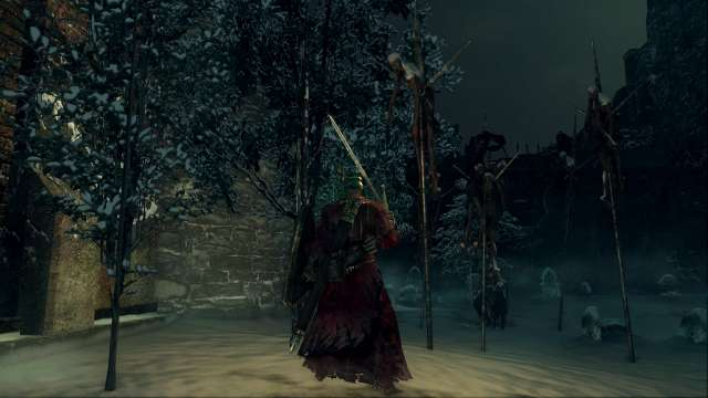 PC 版 DARK SOULS with ARTORIAS OF THE ABYSS EDITION(Prepare To Die Edition) DSfix スクリーンショット、エリア エレーミアス絵画世界(Painted-World Ariamis)