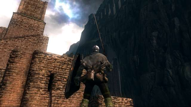 PC 版 DARK SOULS with ARTORIAS OF THE ABYSS EDITION(Prepare To Die Edition) DSfix スクリーンショット、エリア センの古城(Sens Fortress)