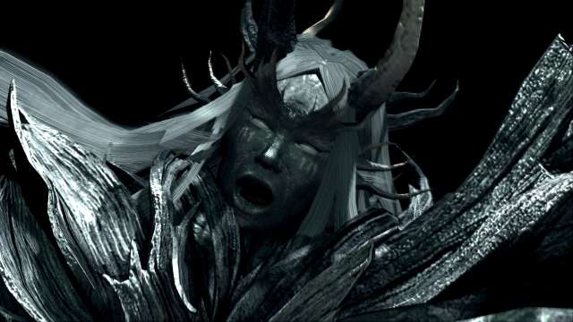 PC 版 DARK SOULS with ARTORIAS OF THE ABYSS EDITION(Prepare To Die Edition) DSfix スクリーンショット、エリア 深淵(The Abyss) エリアボス 四人の公王 撃破