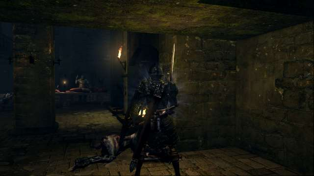 PC 版 DARK SOULS with ARTORIAS OF THE ABYSS EDITION(Prepare To Die Edition) DSfix スクリーンショット、エリア 最下層(Depths) 不死の人食い女