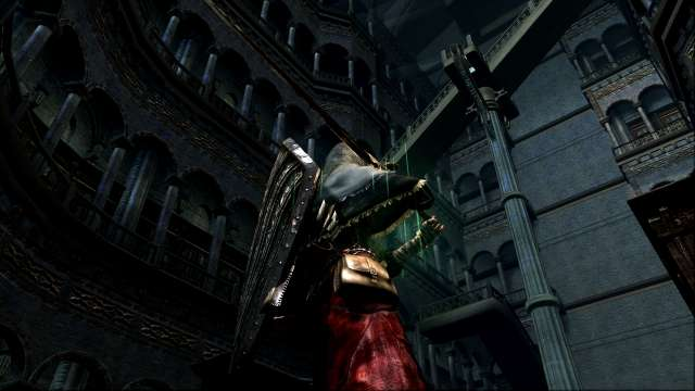 PC 版 DARK SOULS with ARTORIAS OF THE ABYSS EDITION(Prepare To Die Edition) DSfix スクリーンショット、エリア 公爵の書庫(The Dukes Archives)