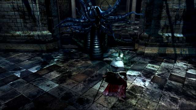 PC 版 DARK SOULS with ARTORIAS OF THE ABYSS EDITION(Prepare To Die Edition) DSfix スクリーンショット、エリア 公爵の書庫(The Dukes Archives) 書庫塔