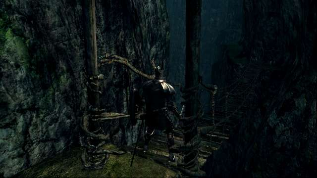PC 版 DARK SOULS with ARTORIAS OF THE ABYSS EDITION(Prepare To Die Edition) DSfix スクリーンショット、エリア 飛竜の谷(Valley-of-Drakes)