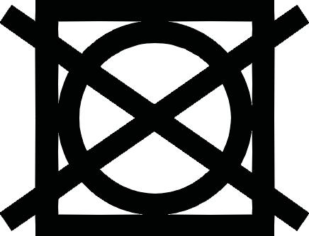 プリントスター Printstar 5.6オンス ヘビーウェイト 長袖リブ無し カラーTシャツ 00101-LVC 洗濯表示(洗濯マーク)、乾燥処理記号:タンブル乾燥(300番台) ・・・ タンブル乾燥禁止