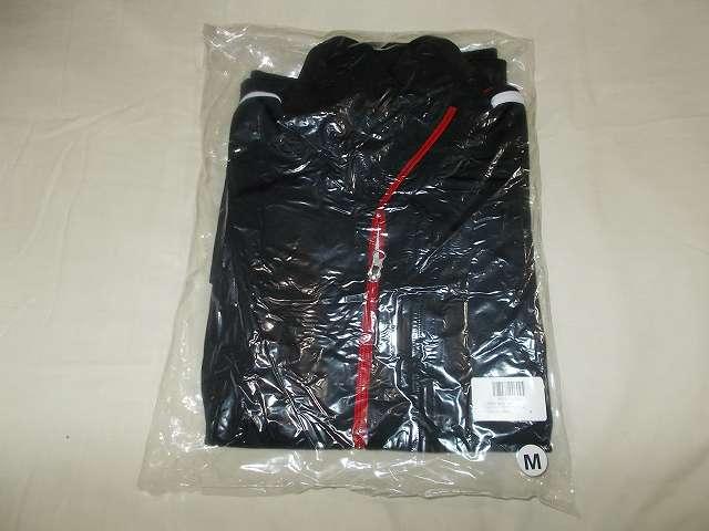 UnitedAthle ユナイテッドアスレ 7.0オンス ジャージ ラグランスリーブ ジャケット 1995-01 9830 ブラック/レッド/ホワイト Mサイズ 購入
