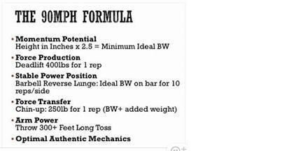 90mph formula