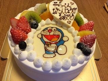 20180116_誕生日ケーキ