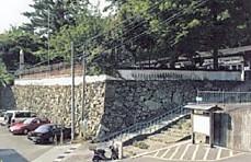 鳥羽城幼稚園石垣