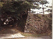鳥羽城跡石垣