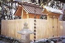 伊射波神社本殿