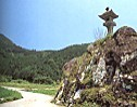風伝峠亀島燈籠