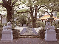 徐福の墓地