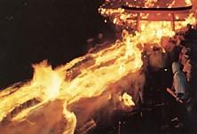 神倉神社火祭り下