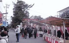 秋葉神社祭礼鳥居前2