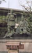 闘鶏神社弁慶湛増像