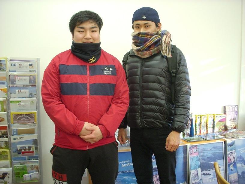 フィリピン留学した高橋さんと村瀬さん