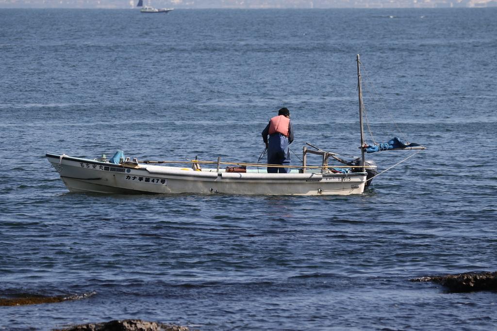 釣舟と漁船_1