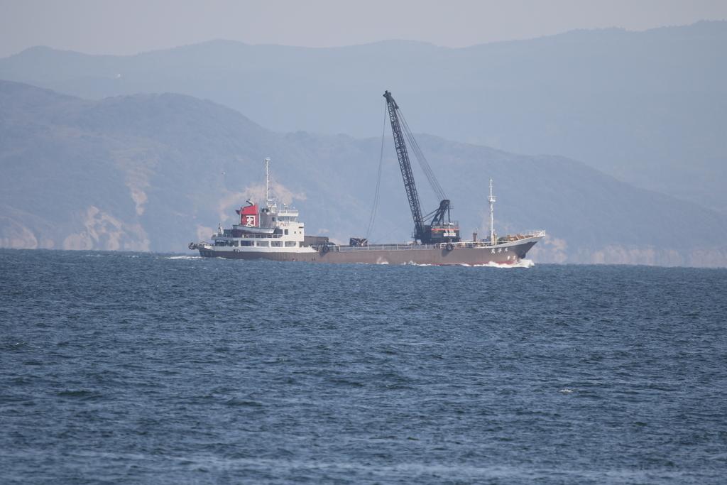 貨物船兼砂利運搬船『天洋丸』