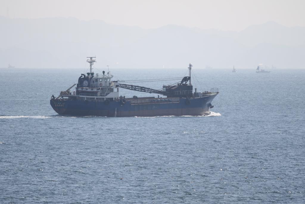 砂利運搬船『第八大福丸』_3