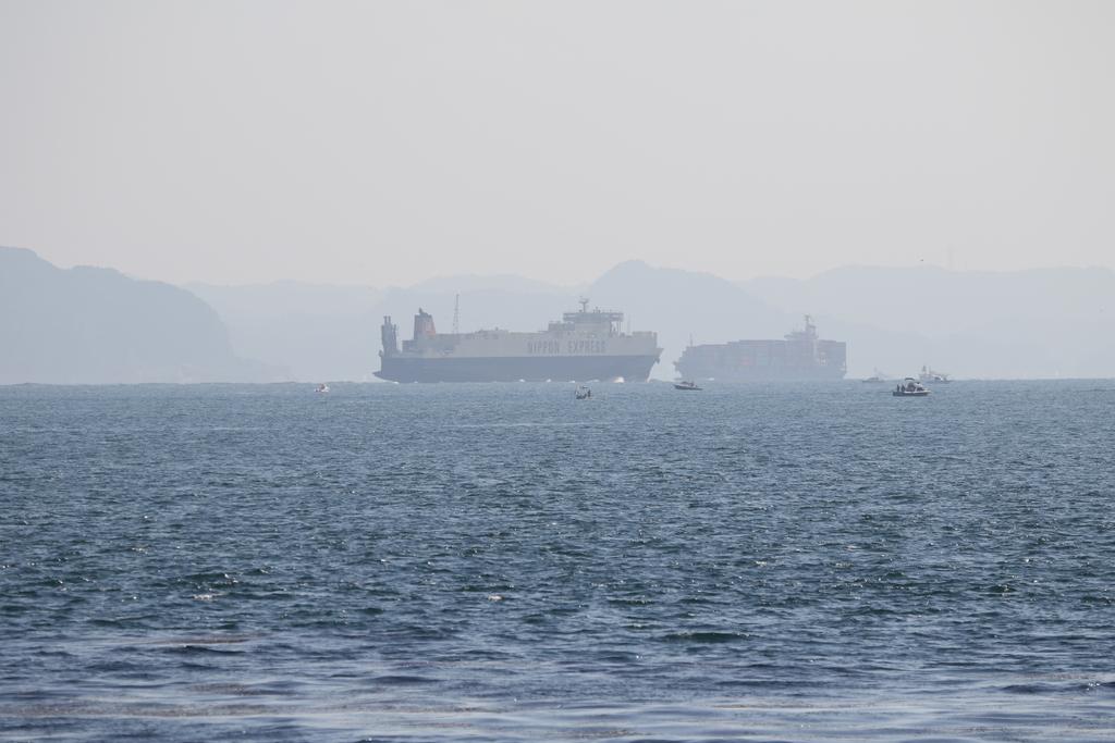 今度はあの船舶との交差が_4