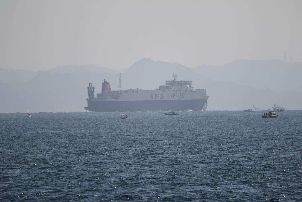 今度はあの船舶との交差が_6